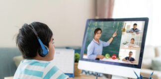 student-video-conference-learning